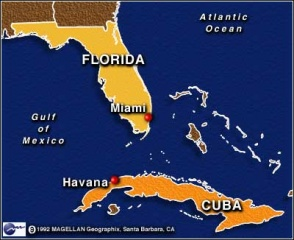 File:Map.florida.cuba.miami.   The Peopling of NYC