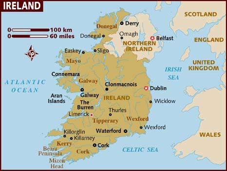 Map Of Ireland To New York.Image Map Of Ireland Jpg The Peopling Of New York City