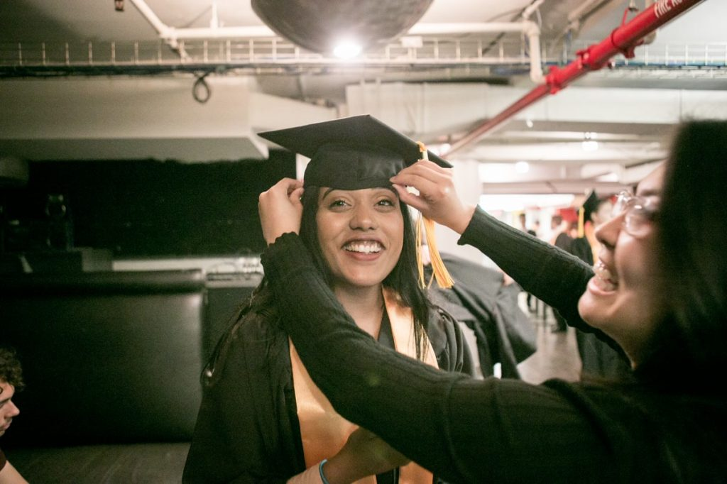 Macaulay Commencement. Photo by Arpi Pap