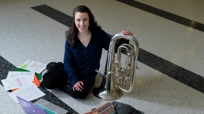Alyssa Blumenthal has won a Fulbright Scholarship