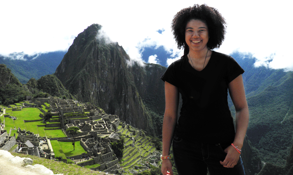 Melody Mills Studying Abroad in Peru