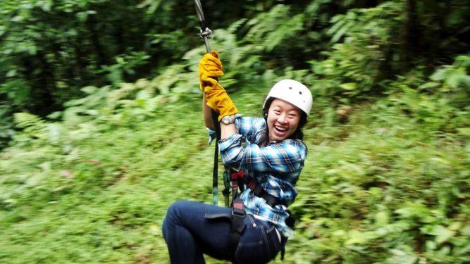 Sara Louie in Costa Rica