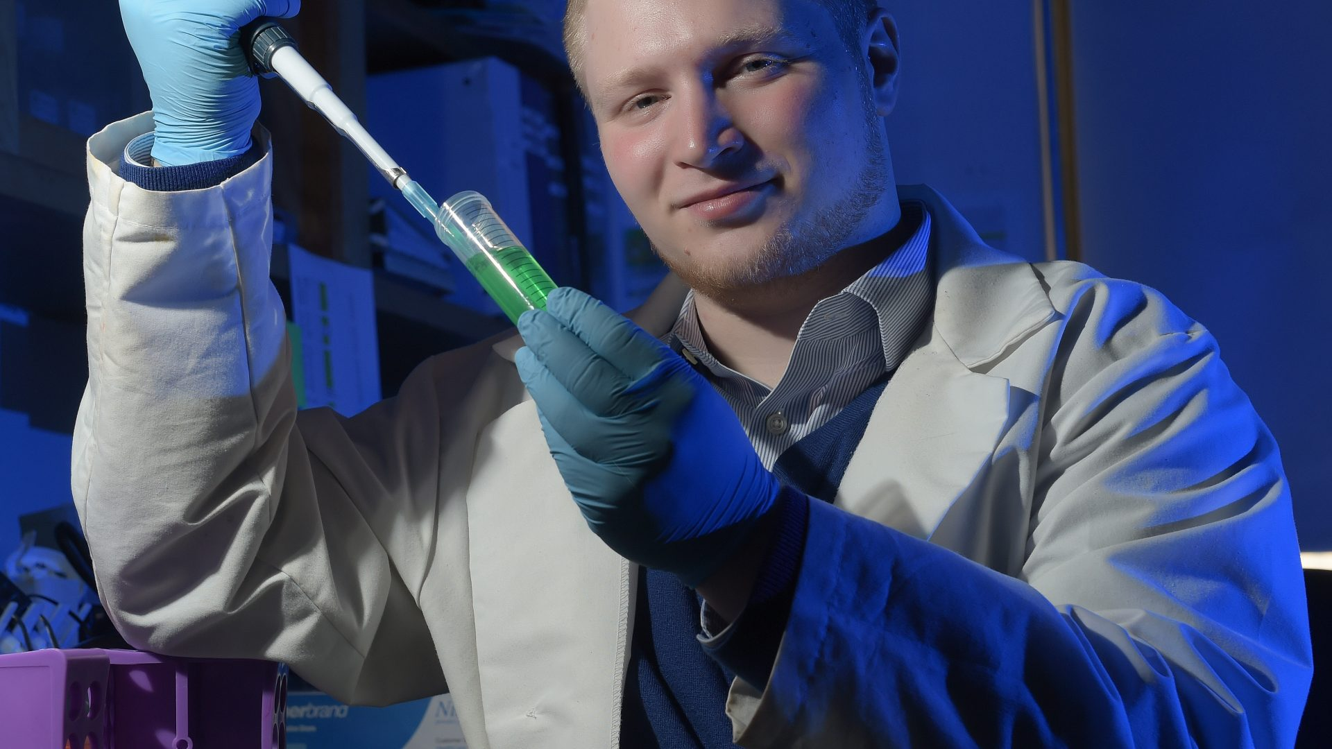 Research Assistantships, Zachary Gershon has won a Goldwater Scholarship for research