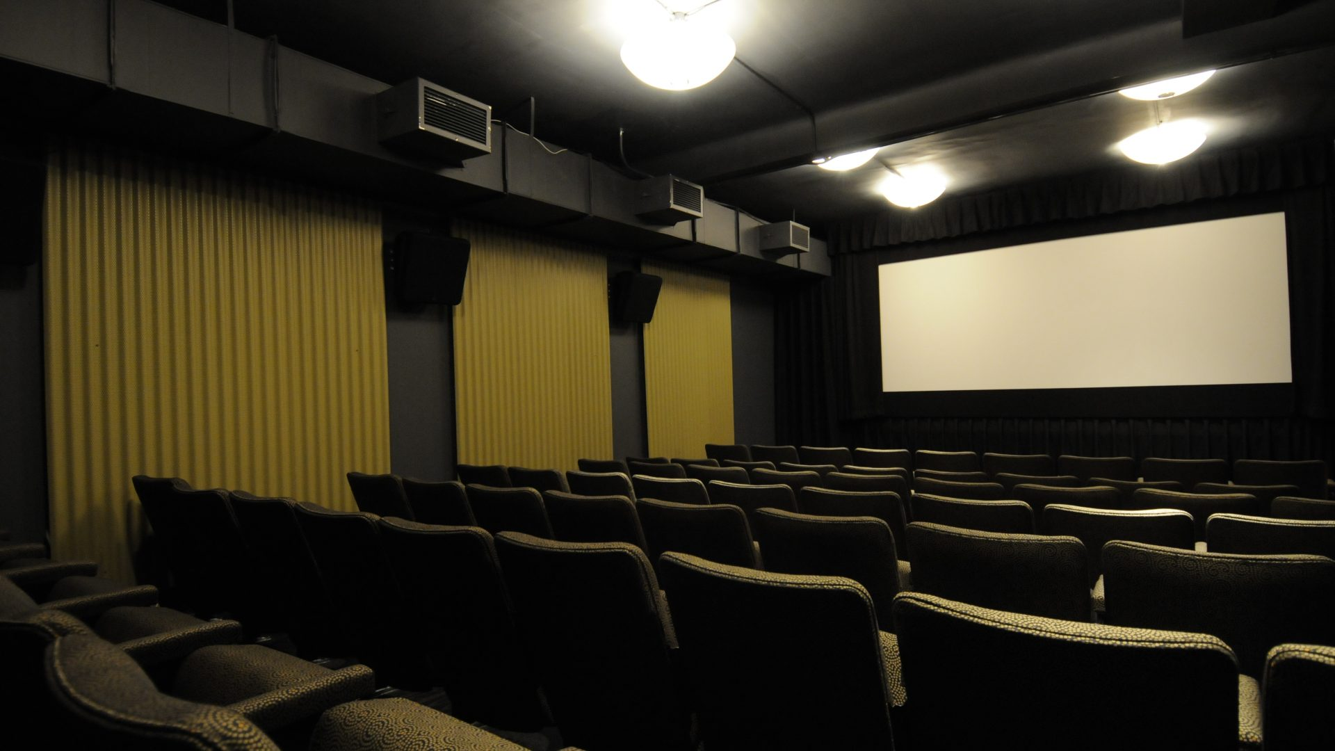 Photo of the Macaulay screening room