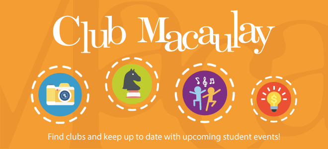 Club Macaulay Banner
