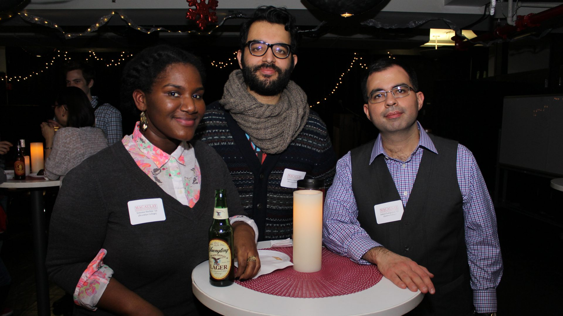 2015-12-16 Alumni Cocktail Night @ Macaulay