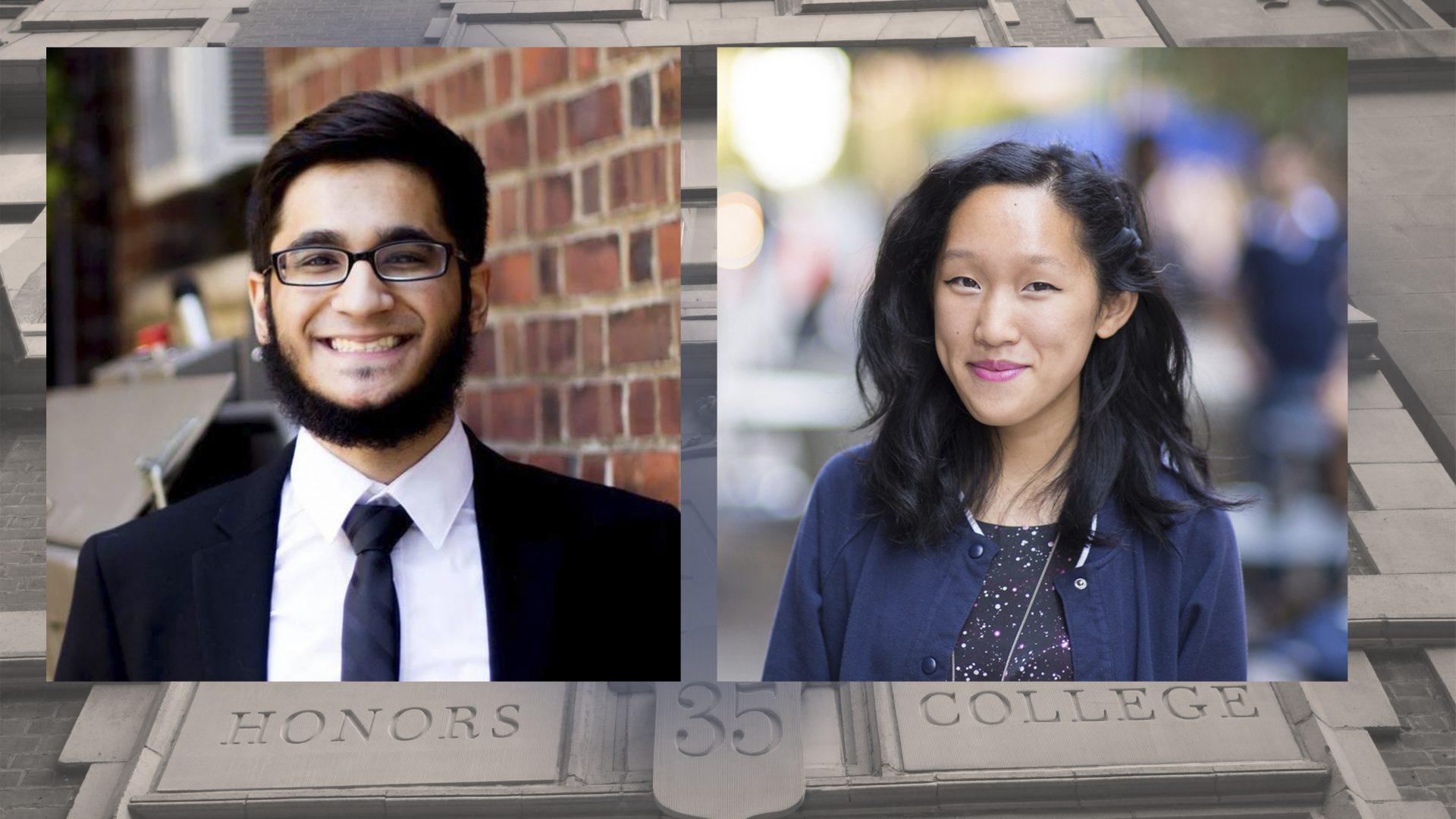 Nabil Khatri and Michelle Sheu Gilman Award Winners