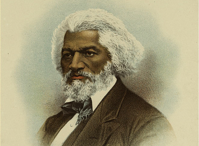 Print of Frederick Douglass