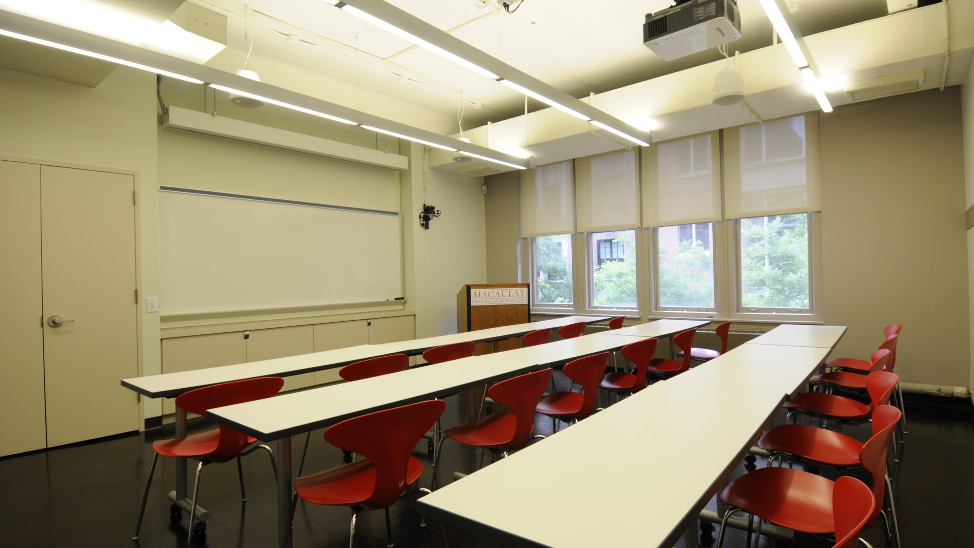 Photo of the Macaulay classrooms