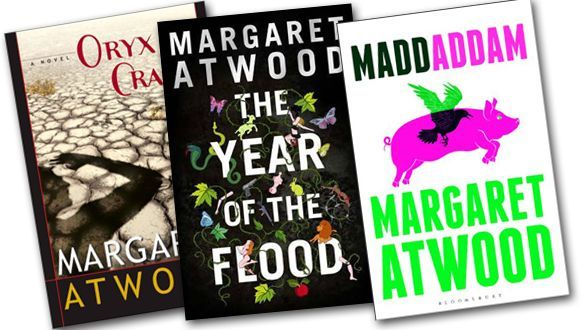 Margaret Atwood Trilogy book covers