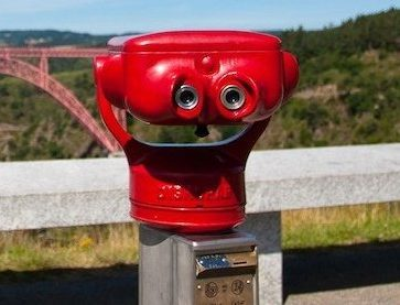 Photo of a tower viewer