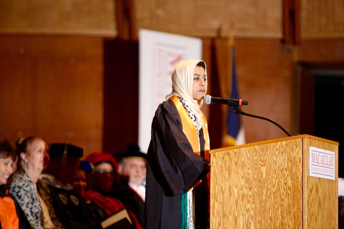 2016 student speaker