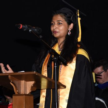 photo of student speaker Stephin Jose