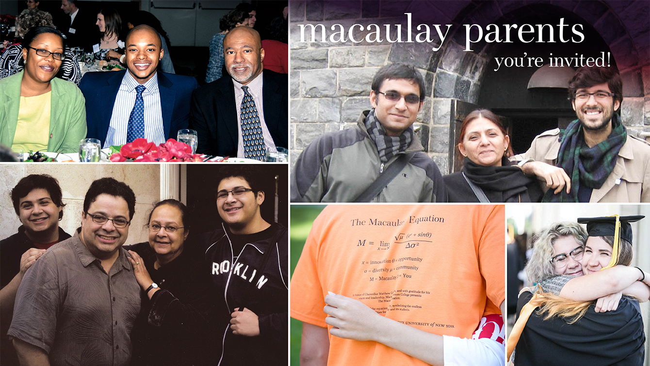 Macaulay Parents you're invited!