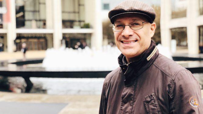 Professor Steve Monte, College of Staten Island. Photo by Julie Verone.