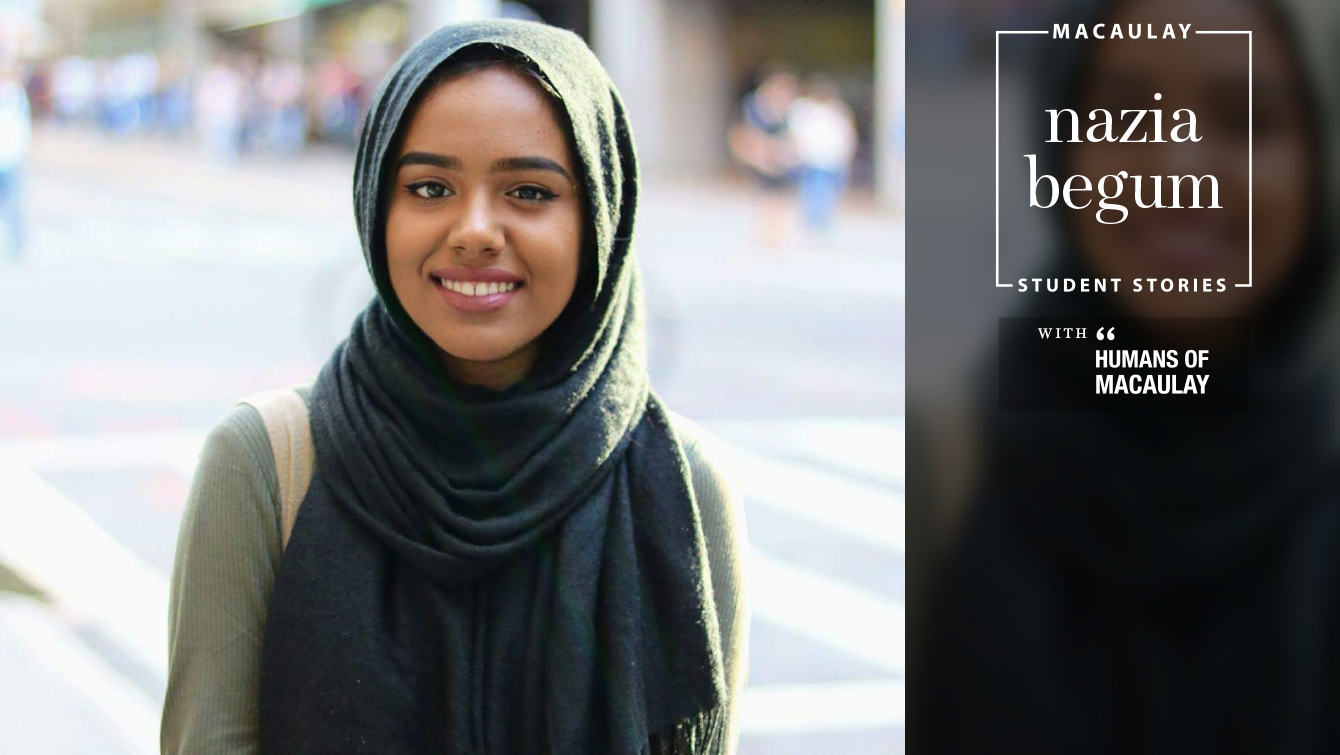 Nazia Begum '21 (Hunter College)