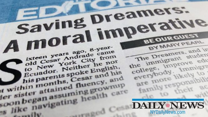 Saving Dreamers: A moral imperative
