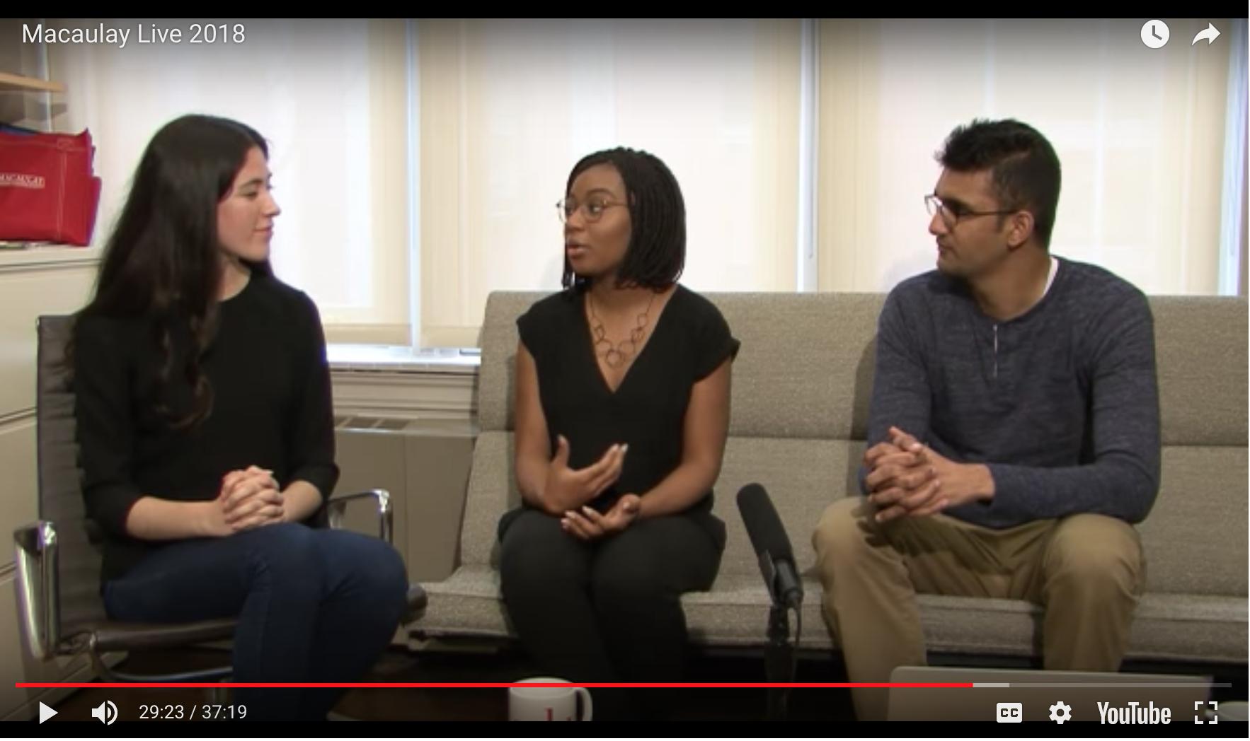 Screenshot of 2018 Live Yield Event Video