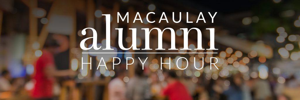 Alumni happy hour header