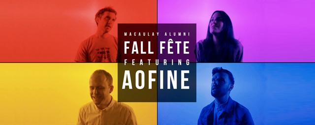Macaulay Alumni Fall Fête featuring Aofine