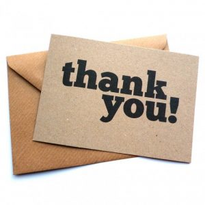 Tips for Writing Professional Thank You Notes