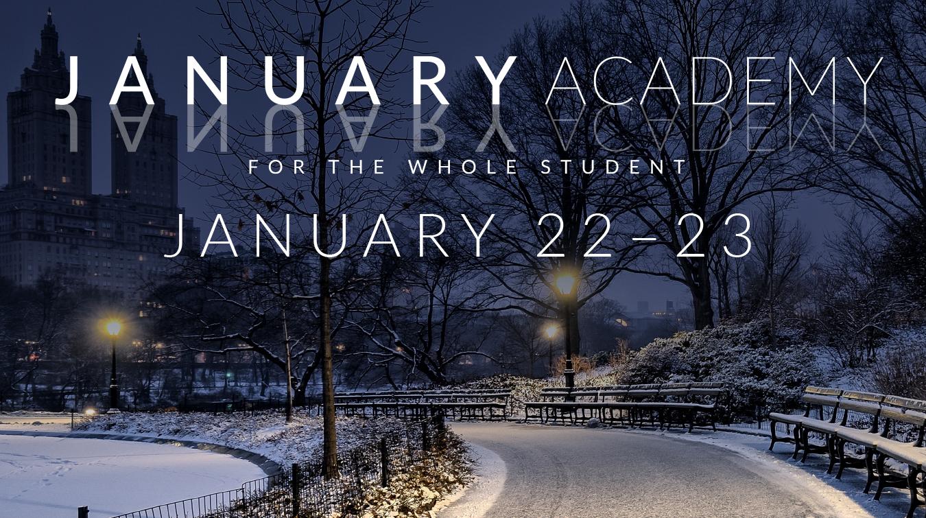 January Academy 2018