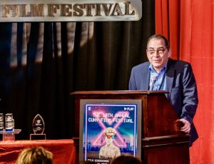 Robert Small at the CUNY Film Festival 2018