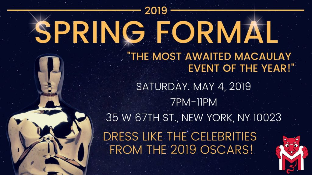 Spring Formal Oscars