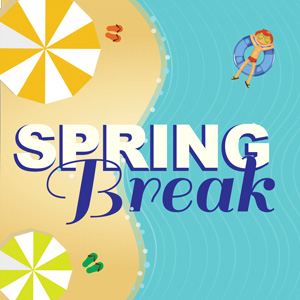 6 Tips on How to be Productive During Spring Break