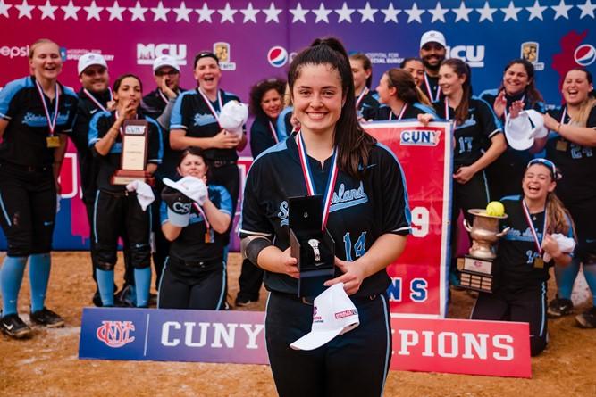 Jaclyn Kateridge '22 (CSI) Student Athlete