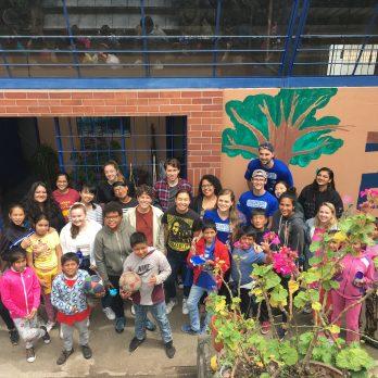 Kenan Scholars Studying Abroad in Ecuador 2019