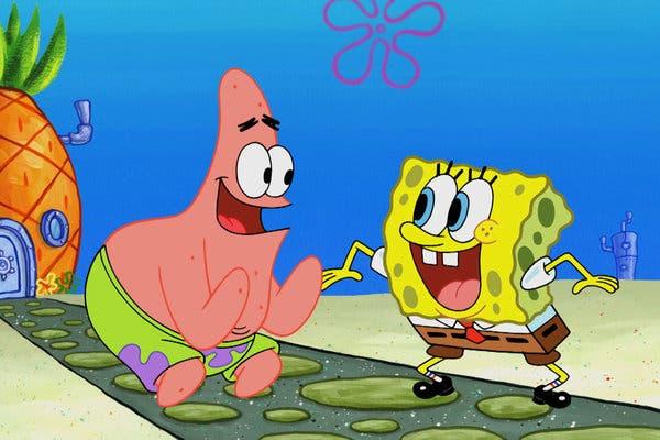 Viacom property Sponge Bob