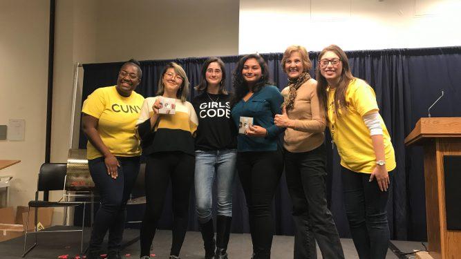 2019 Hackathon winning team