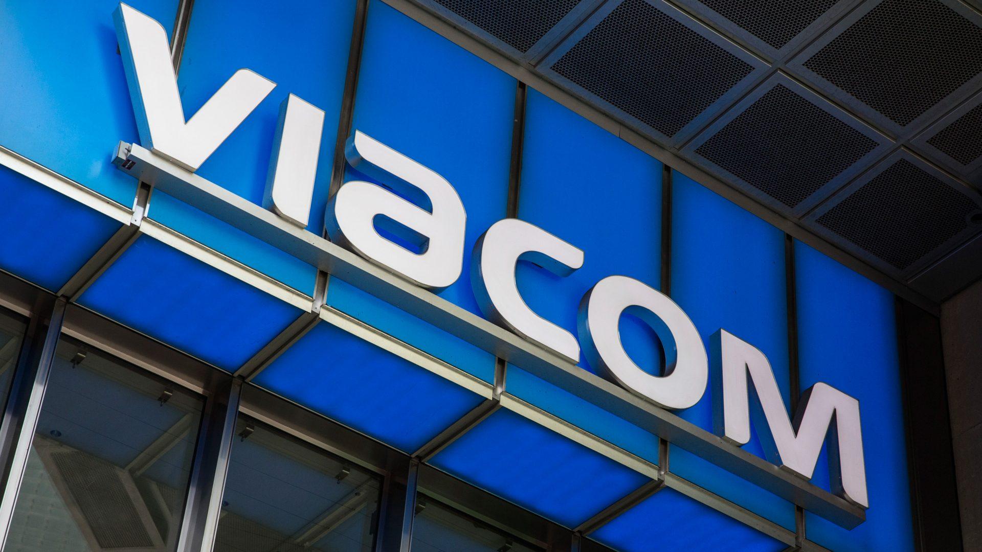 Viacom sign