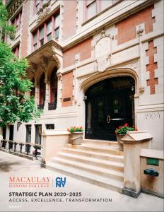 Macaulay Strategic Plan Draft Cover Screenshot