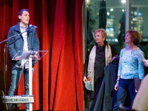 Brian Kateman '11 receives the 2019 Alumni Pioneer Award