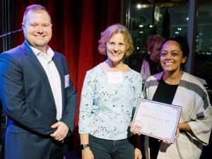Sasha Ahuja '09 receives the 2019 Alumni Pioneer Award