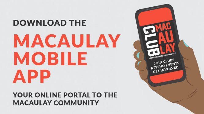 Download the Macaulay Mobile App