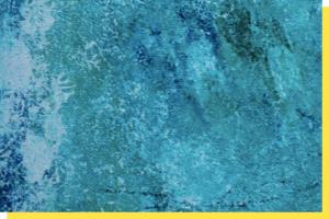 Aqua Abstract Artwork