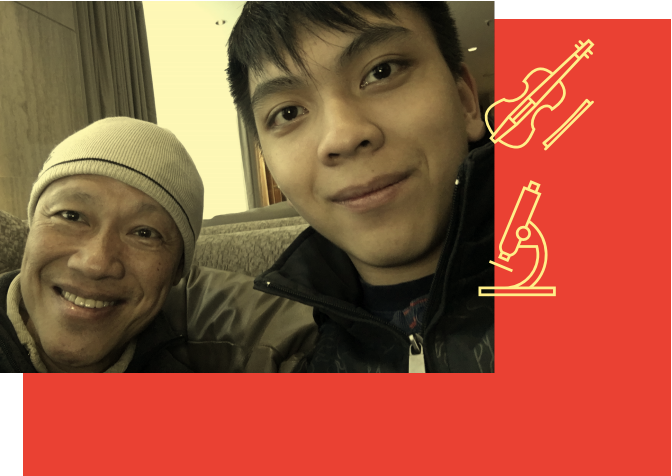 John Chen, Luming Chen (Hunter)