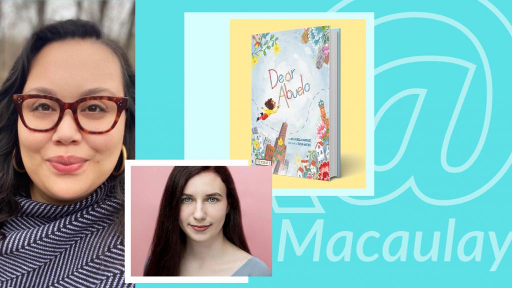 @Macaulay Author Series with Grecia Huesca Dominguez'12