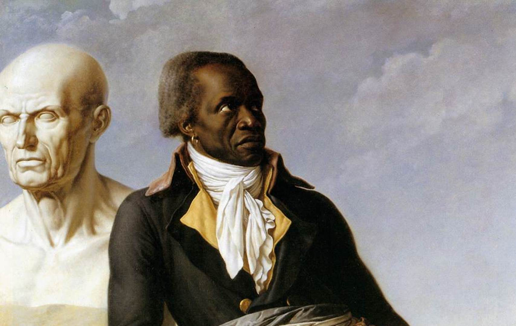 Anne-Louis Girodet de Roucy-Triosson (French, 1767–1824). Portrait of Jean-Baptiste Belley, 1797. Oil on canvas; 159 x 111 cm (62.5 x 43.7 in). Versailles: Musée du Château, MV 4616. Source: Ministère de la Culture