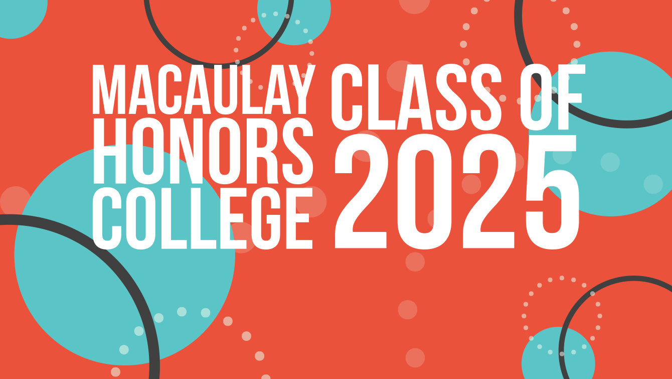 Macaulay Honors College Class of 2025